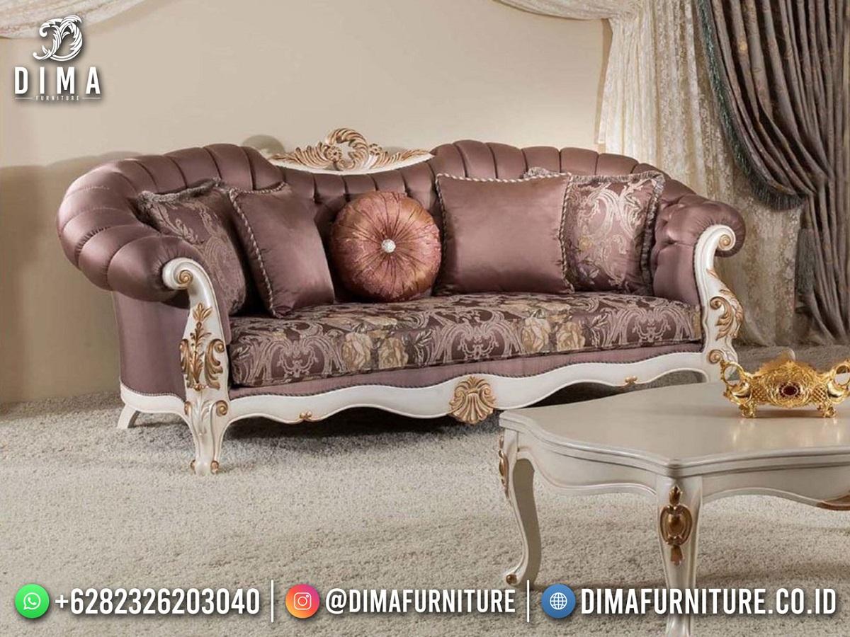 Shabby Chic Sofa Tamu Jepara Pretty Design Good Quality Mm-1102
