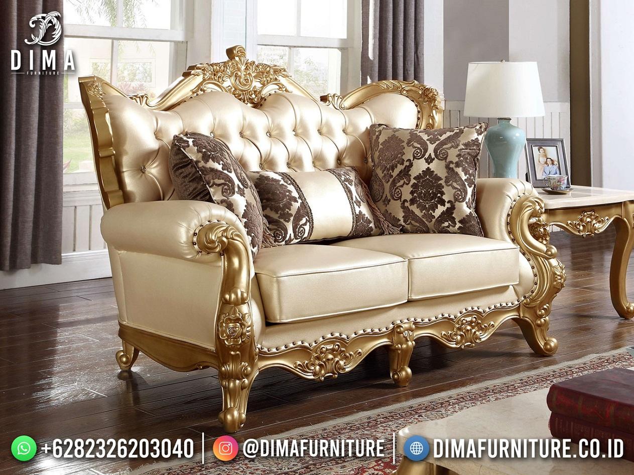 Sofa Tamu Mewah Klasik Terbaru Beauty Andriana Mm-1100