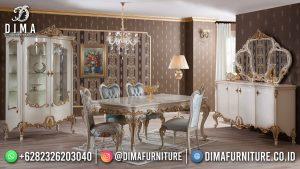 Desain Meja Makan Mewah Furniture Terbaru Jepara MM-1123