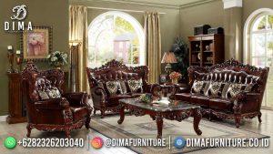 Harga Sofa Tamu Mewah Klasik Jati Ukiran Furniture Jepara MM-1133