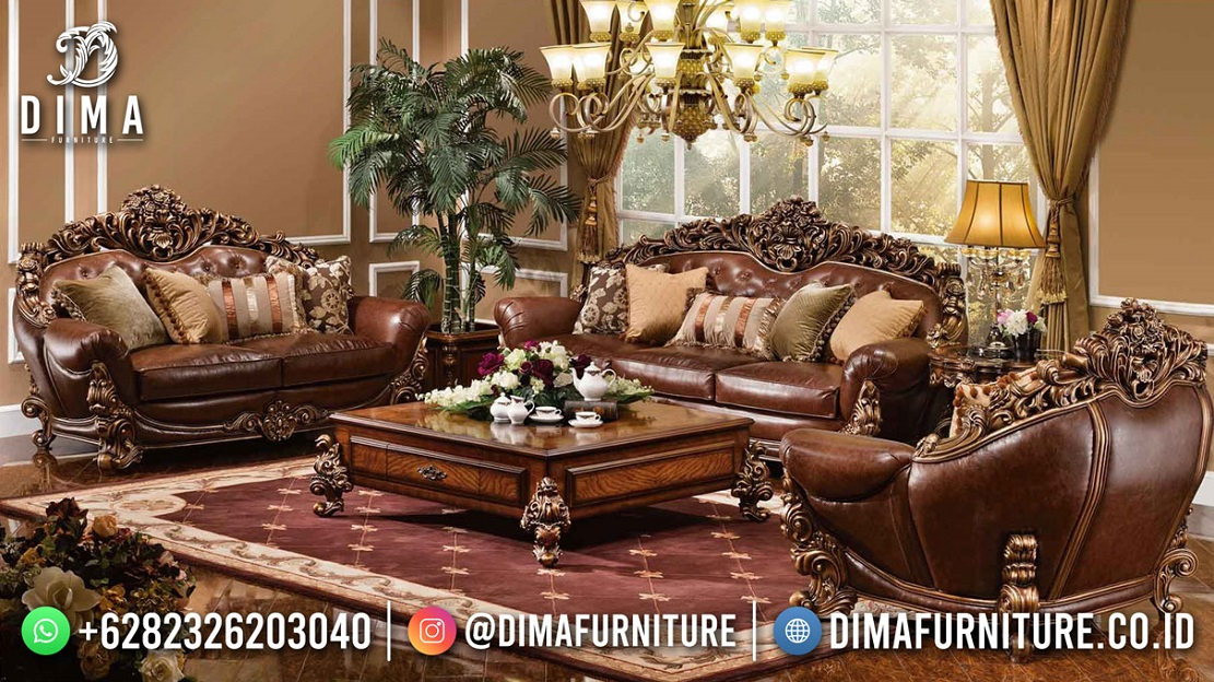 Jual Kursi Sofa Terbaru Jepara Luxury Classy Furniture MM-1134