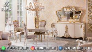 Jual Meja Makan Mewah Classy Eropa Furniture MM-1119