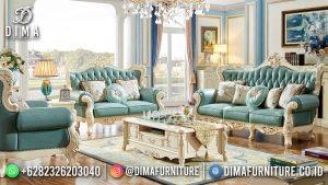 Sofa Tamu Terbaru Kota Jepara White Duco Beauty Tosca MM-1152