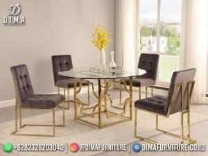Best Item Meja Makan Minimalis Jepara Industrial Furniture MM-1171