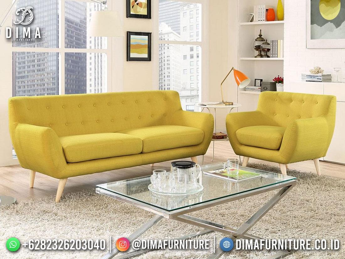 Desain Sofa Minimalis Terbaru Jepara 100% High Quality Mm-1158