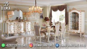 Model Meja Makan Mewah Ukir Luxury Carving Popular Item Furniture Jepara MM-1186