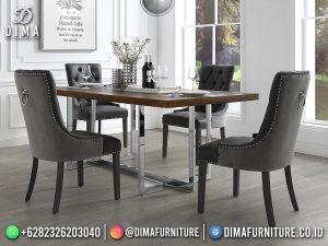 New Arrival Meja Makan Minimalis Klasik Elegant Design Furniture MM-1191