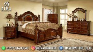 Furniture Jepara Kamar Set Minimalis Mewah Classy Natural Glossy MM-1216