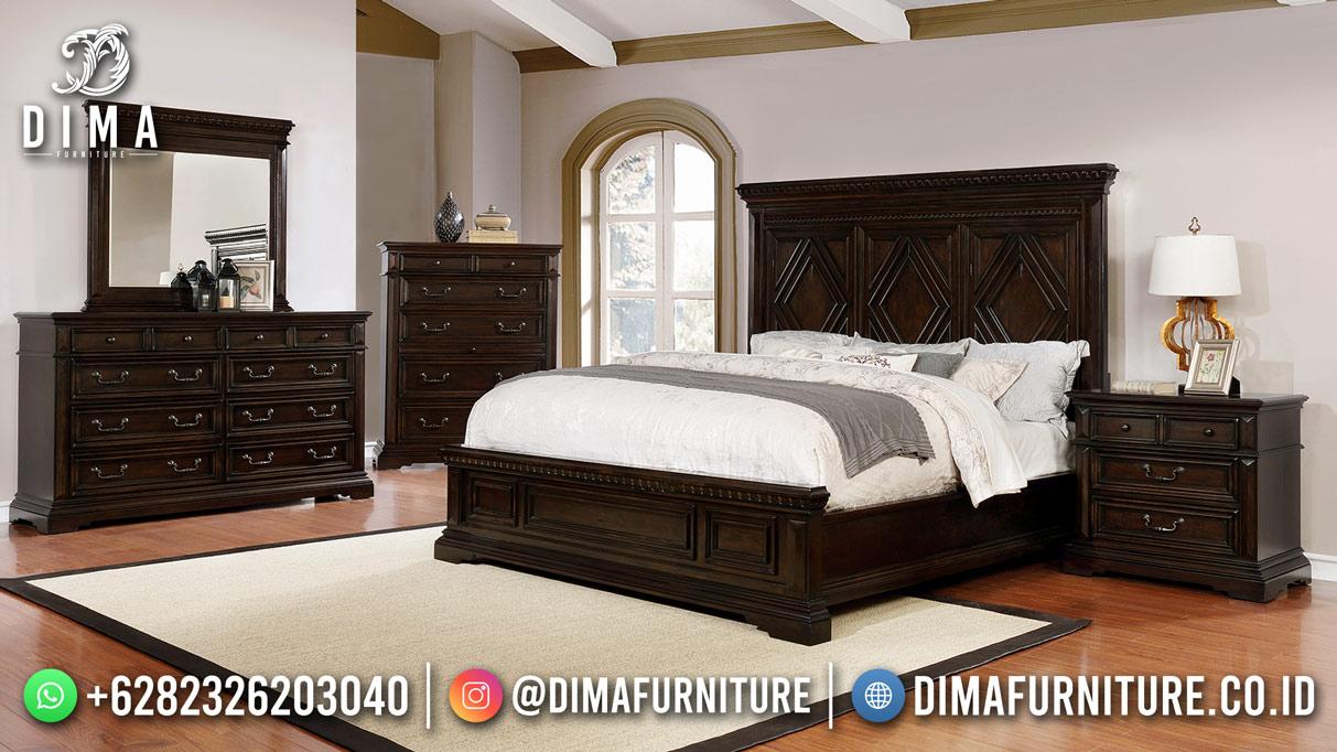 Harga Kamar Set Minimalis Jati Jepara Model Terbaru Recomanded Mm-1217