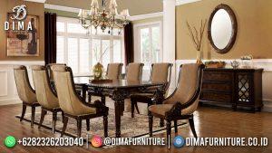 Meja Makan Minimalis Modern Jati Top Quality Product MM-1213