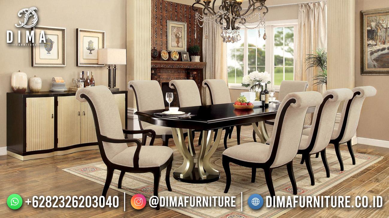 Model Meja Makan Minimalis Jati Elegan Untuk Rumah Anda MM-1215